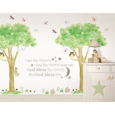 Shop Wallpops I See The Moon And Treehouse Kit Bundle Vinyl Wall Art Free Shipping Today Overstock 7480320