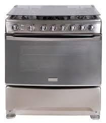 30 6 burner stainless gas range