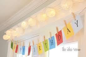 diy happy birthday banner ideas