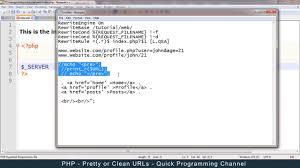 clean urls links using htaccess