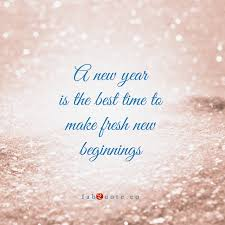 new year new beginnings quote
