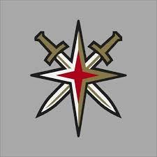 Vegas Golden Knights Nhl Team Logo Vinyl Decal Sticker Car Window Wall Cornhole