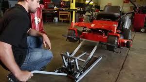 pro lift lawn mower lift you
