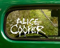 2 Alice Cooper Decal Rock Band Stickers Buy Online In Armenia At Desertcart