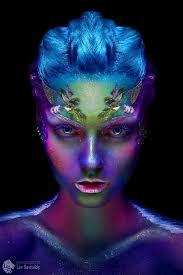 Pin by Wendi Morris on costumd in 2020 | Alien makeup, Fantasy makeup,  Theatrical makeup
