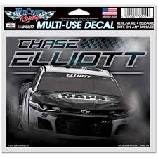 Chase Elliott Wincraft 4 5 X 6 Multi Use Charcoal Car Decal Nascar Shop