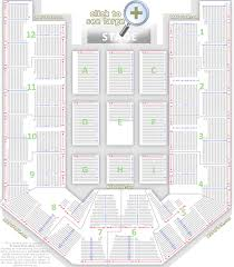 hand picked seating plan for arena