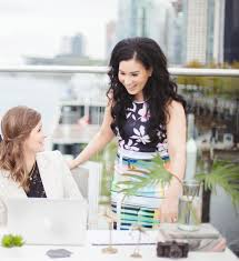 Hilary Chan-Kent and Jessica Thomas Cooke of Wanderlust Management. (For  Vancouver Sun fashion)