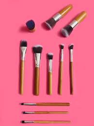 bamboo makeup brush set the hive