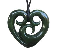 new zealand greenstone pendants maori