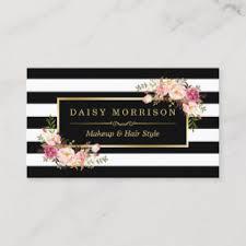 makeup artist business cards zazzle