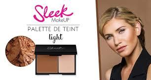 palette de teint face contour kit light