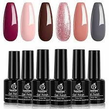 pastel peach c pink nail polish