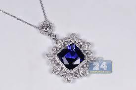 womens blue sapphire diamond royal