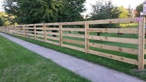 Residential Post Rail Fences Installation Repair