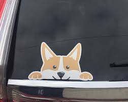 Corgi Sticker Etsy