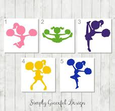 Cheerleader Tumbler Decal Cheer Squad Gifts Cheer Mom Car Decal Cheerleading Decal Cheer Mom Gifts Cheerleading Cheer