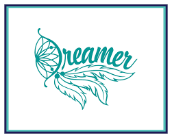 Dreamer Decal Dream Catcher Decal Feather Decal Boho Etsy