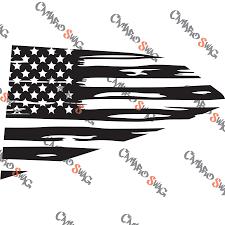 6th Gen Camaro Quarter Window American Flags Camaro Swag