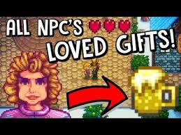 what are the villagers most loved gifts