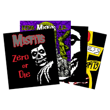 Zero Zero X Misfits Sticker 4 Pack Escapist