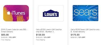 ebay black friday gift card deals
