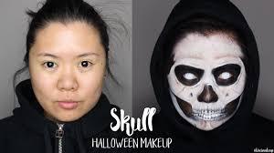 skull makeup grim reaper makeup