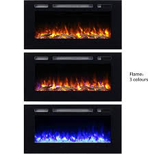 hawnby recessed electric fire 220