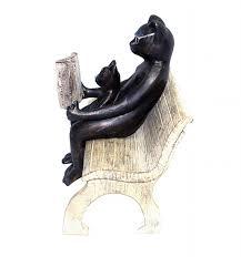 cat sculpture garden statues lorenzo