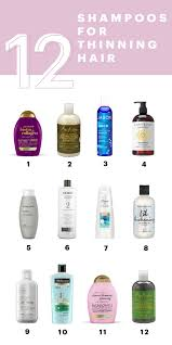 best shoos for thinning hair to make