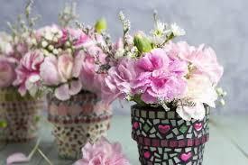 diy ideas mosaic flower pots frosts