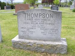 "Adeline Emma Cornelia ""Addie"" Perry Thompson (1871-1921) - Find A Grave  Memorial"