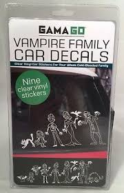 Motors Vampire Family Decal Car Stickers Clear Vinyl Gama Go Window Clings Set Of 9 Other Car Truck Decals Stickers Phillipsranchdentalgroup Com