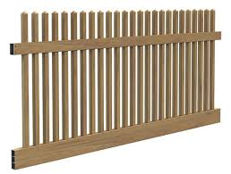Vinyltech Fencing Woodgrain Spindle Picket Fence Panel Kit