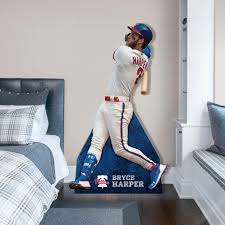 Bryce Harper Stand Out Officially Licensed Mlb Removable Wall Decal