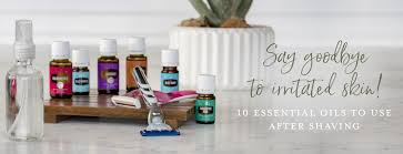 essential oils for aftershave young
