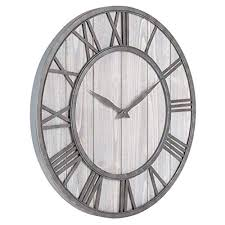 solid wood wall clock kitchen wall