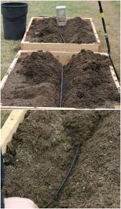 irrigation systems for a self watering