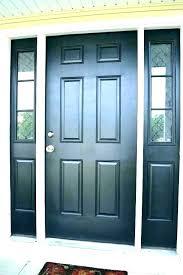 front door side panel glass replacement
