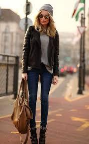 women s dark brown leather biker jacket