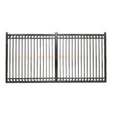 China 2020 Pre Welded Black Aluminum Decorative Metal Fence Gate China Door Aluminum Gate