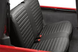 bestop jeep rear bench seat covers 2003