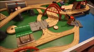 brio train tables and sets toy train