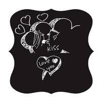 Fridge Sticker Vinyl Decals Chalkboard Sticker Chalk Board Wall Stickers Kitchen Home Decoration Size 30x50cm Cuisine Wish