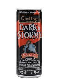 goslings dark n stormy single can