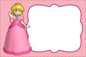 Princess Peach Birthday Party Invitation Jpg 3 003 2 003 Pixels