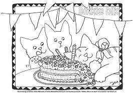 Kleurplaten Verjaardag Volwassenen Kleurplaten Verjaardag En Prints