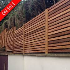 Canadian Western Red Cedar Screen Slats Planed Square Edge For Fencing Cladding Pack 38 43 Linear Meters 21 P In 2020 Slatted Fence Panels Cedar Fence Fence Design