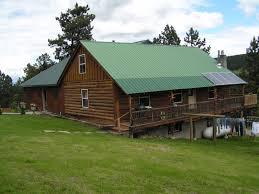 central montana log home on 20 acres