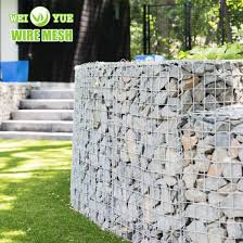china wire cages rock retaining wall